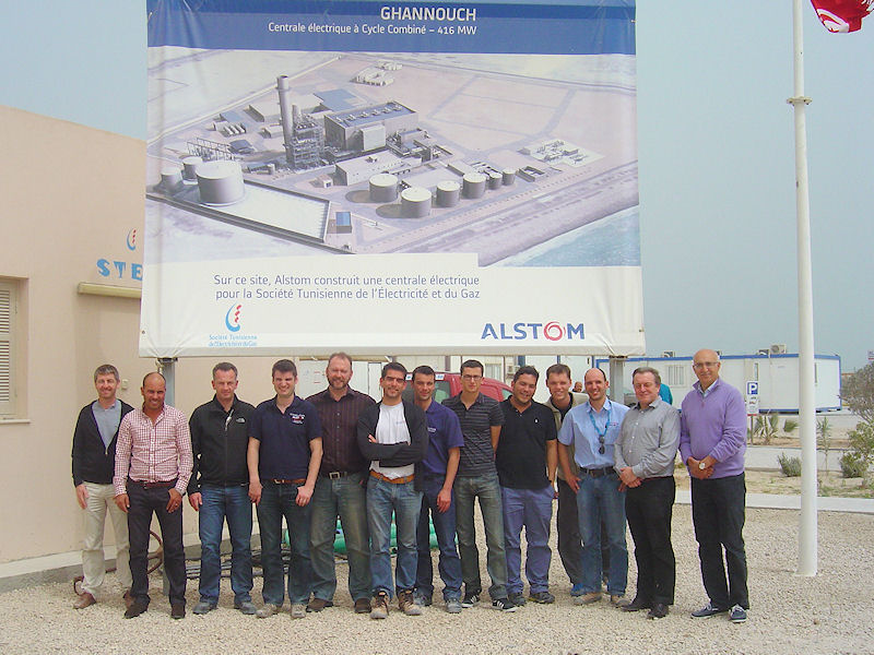 Alstom group photo, Tunisia