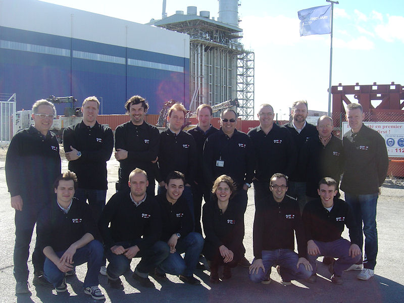 Alstom group photo, France